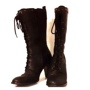 Bass-Lilian mid-calf boots sz7.5